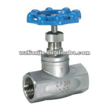 CF8 NPT Thread Stainless Steel Globe Valve