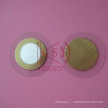 Alarme Buzzing 27mm Piece Buzzer Piezoelectric Speaker