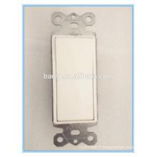 Interrupteur unipolaire 15 A, blanc