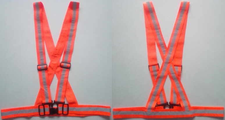 EN13356 Orange Safety Belt
