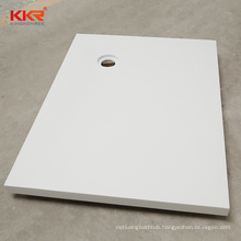 AC hotel solid surface resin stone shower base
