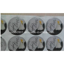 Autocollant résine autocollant époxy (polyuréthane), Étiquette époxy autocollant, Étiquette souple résine époxy