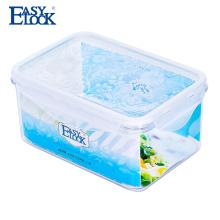 contenedor de almacenamiento plástico de las ventas herméticas de los pp de la categoría alimenticia con la tapa del sello