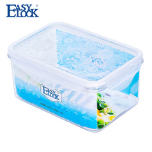 food grade pp watertight sales plastic storage container with seal lid