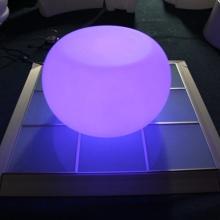 Plastic illumination Glowing Coffee Led Tables