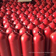 Fire control 34CrMo4 200bar 68L seamless steel co2 gas cylinder