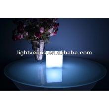 10cm cube restaurant table lamp