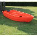 Venta popular ligero 3,1 m pequeños barco PE plástico barcos de pesca