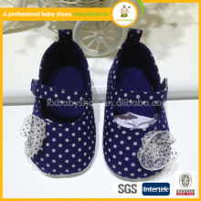 2015 hot selling lovely handmade baby girl shoes China factory