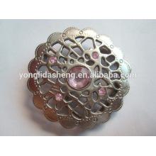 Las hebillas más nuevas del metal de la decoración del metal del diseño buckle.fashion para las correas