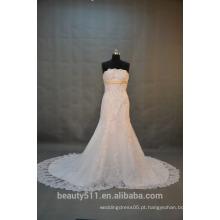 EM STOCK Vestido de casamento fora do ombro Vestido de noiva do trem da corte SW14
