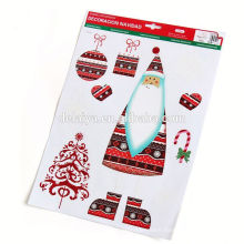 Christmas Shop Window Decals Snowflake String wall sticker