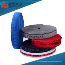 La fábrica personaliza la cinta de encargo del telar jacquar respetuoso del medio ambiente de la característica de la alta tenacidad