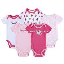 Ropa para niños pequeños Body Bodysuit Jumpsuites Snap Entrepierna Baby Rompers Pijamas Onesie