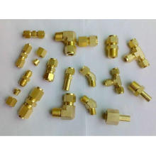CNC machining stainless steel brass parts