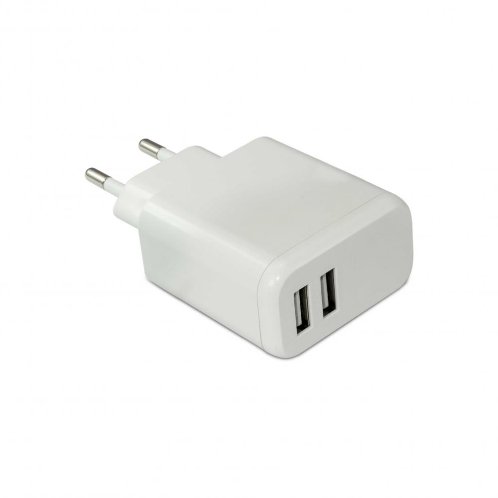 Potable dual USB charger
