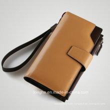 Simple Design PU Classical Custom Mens Purse (ZX10185)