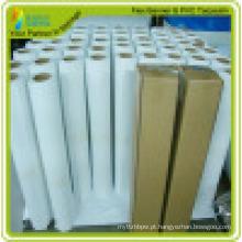 Papel de sublimação A4 ou rolo para anúncio de papel de transferência de rolo