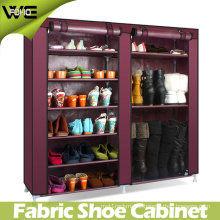 Cheap DIY Design Display Non Woven Portable Shoe Storage