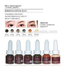 Goochie Permanent Make-up Cream pigment for eyebrow embroidery tattoo