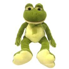 Плюшевая игрушка сидя лягушка