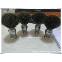 Klantgemaakte Black Badger Hair Shaving Brush