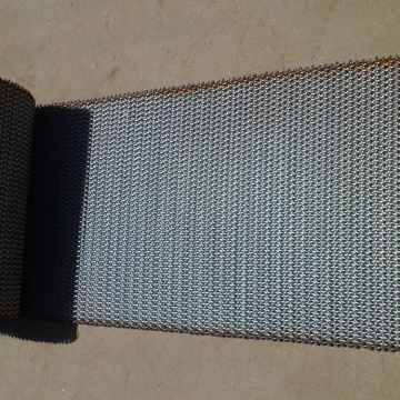 18''Wire Mesh Conveyor Belt para cadena de acero inoxidable