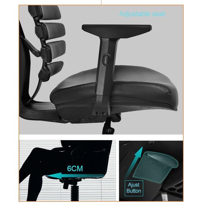 seat depth adjustable mechanism chair