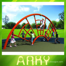 outdoor playground Spider Web Shape type climbing frame