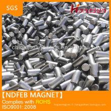 Cylindre d'aimants forcen magnétique super fort N42ndfeb à vendre