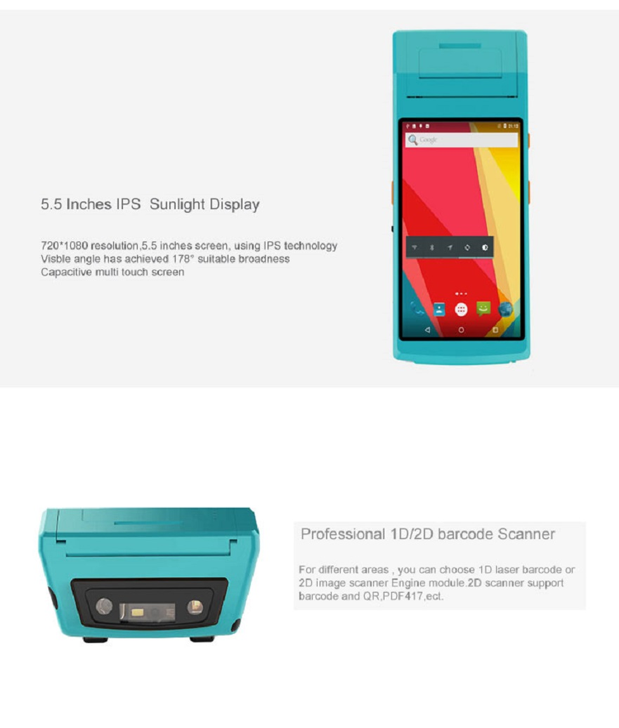 Handheld pda with printer 1205 (2)