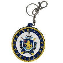 Safety Best Quality Elastic Rubber Wrist Key Rings