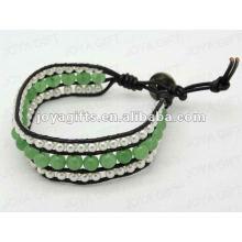 Friendship Aventurine 8MM Round Beads Wrap Bracelets