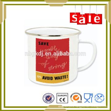Enamel drinkware hammered copper mugs for gift
