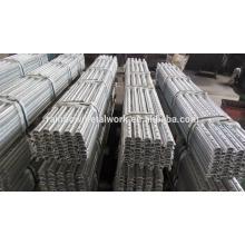 Galvanized u flange 8' steel posts (guage 12)