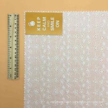 Tissu 100% coton Tissu de coton à oeillets Tissu de poulet