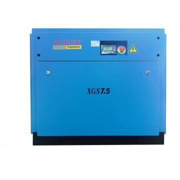 Compresseur d'air à vis à faible bruit AUGUST XGS7.5A