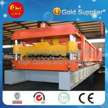 Hochwertige Stahl Fliesen Metall Dach Roll Umformmaschine