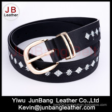 Woment′s Embroidery Fashion Jeans Belt in High Quality