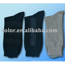 men fashion cotton sock