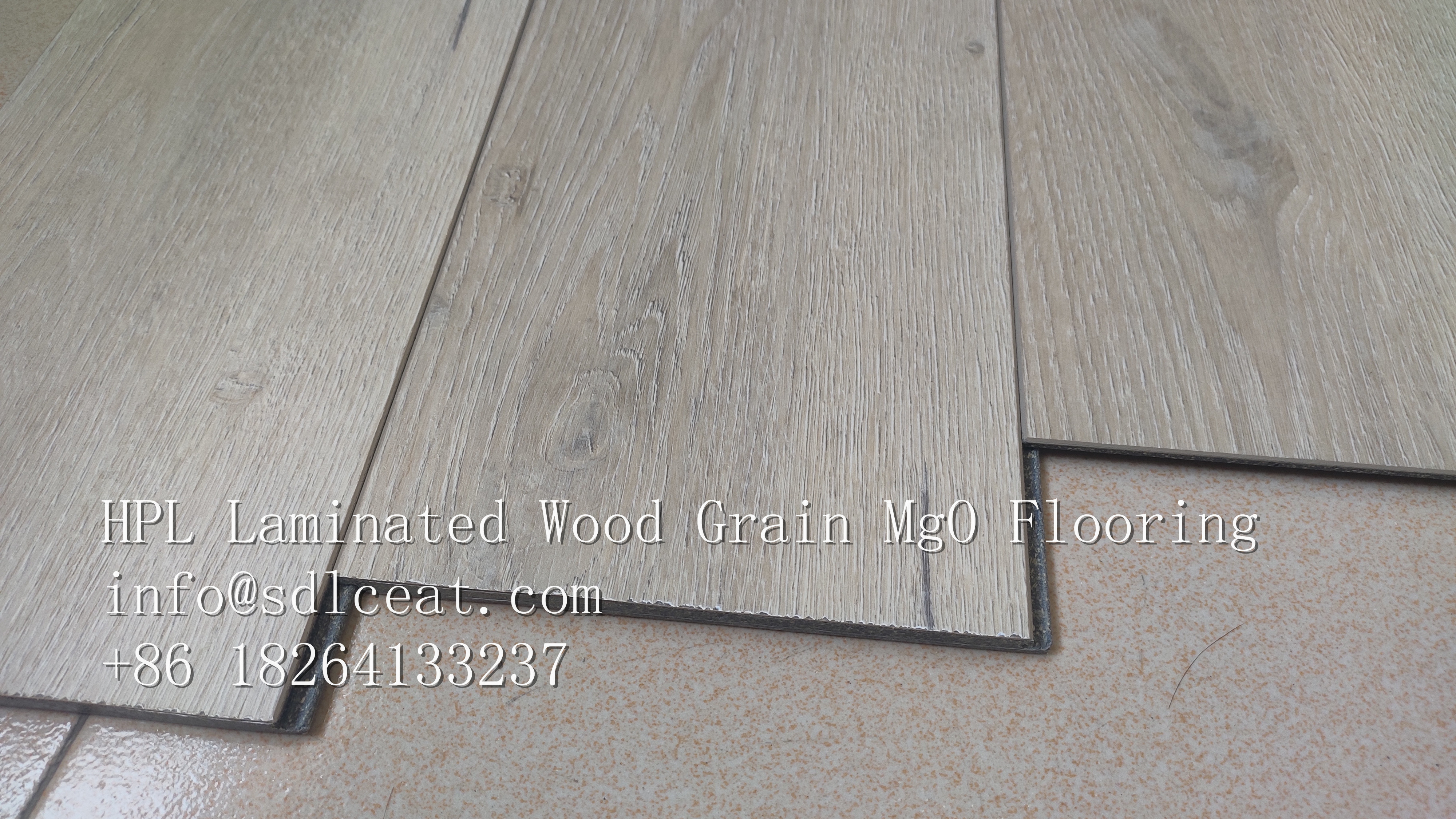 HPL MgO Flooring