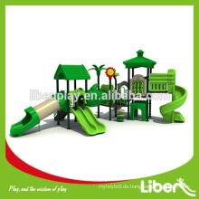 2014 Hit Produkt von Outdoor Spielplatz Plastik Häuser für Kinder LE.SL.006