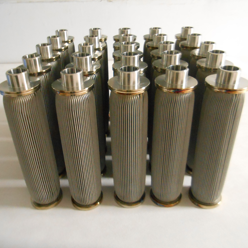 Welded stainless steel filter