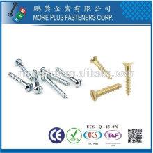 Taiwan Edelstahl 18-8 verchromter Stahl Nickelplattierter Stahl Kupfer Messing Entwickelt für Japan Kunden Holz Haus Schraube