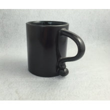 New Black Mug, Black Coffee Mug, Black Coffee Mug