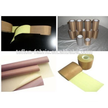 High temperature resistant PTFE fabric tapes