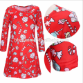 Aliexpress Hot Sell Red Christmas Family Matching Mother And Daughter Clothes