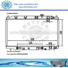 Radiateur de refroidissement d'eau pour H