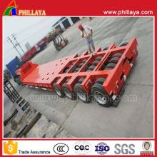 Remorque modulaire de lit bas de Multi-Lines pour le transport lourd d'équipement