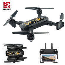 HOT Foldable drone Wifi camera drone with 2MP HD Camera Selfie drone with follow me SJY-DM107S